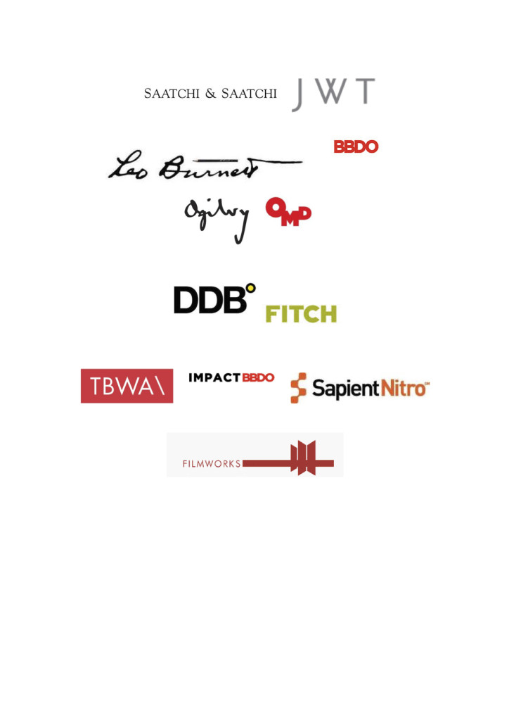 Creative Agencies logos